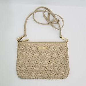 Rebecca Minkoff Woven Nude Leather Bag